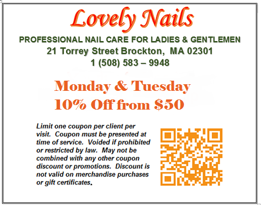 Lovely Nails Coupon